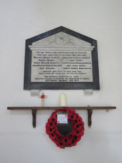 photo of St Mary the Virgin War Memorial