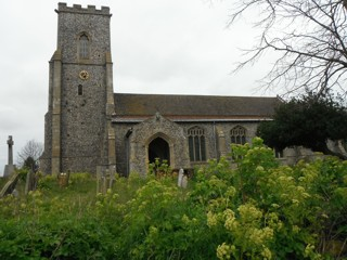 photo of St Mary (interior)'s Church burial ground