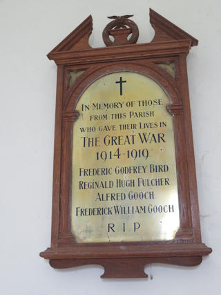 photo of All Saints War Memorial