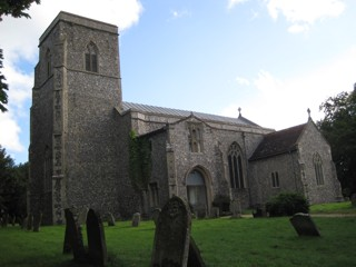 photo of St Mary the Virgin and St Botolph's Church burial ground