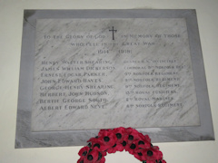 photo of St Andrew War Memorial
