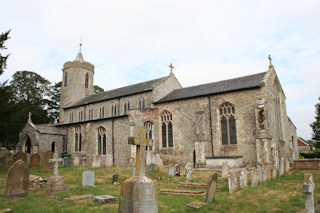 photo of St Mary's monuments