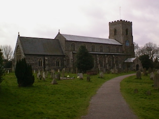 photo of St Catherine's Church burial ground