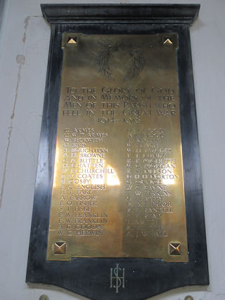 photo of St Stephen War Memorial