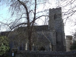 photo of St John the Baptist's Church burial ground