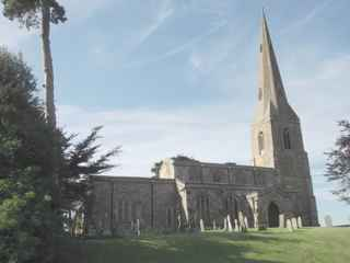 photo of St Mary the Virgin's Church burial ground