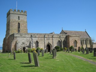 photo of St Aidan's Church burial ground