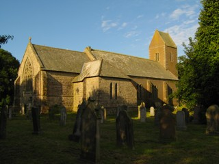 photo of St John's Church burial ground