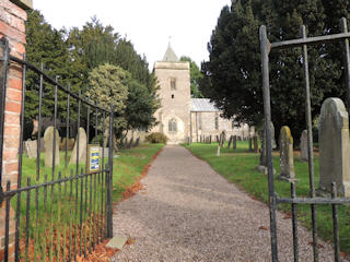 photo of St Augustine of Canterbury's Church burial ground
