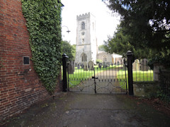 photo of St Luke's Church burial ground