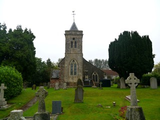 photo of St Leonard's Church burial ground