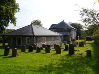 photo of Methodist Church's burial ground