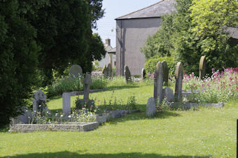 photo of Baptist Chapel's burial ground