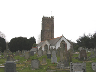 photo of St Decuman (part 1)'s Church burial ground