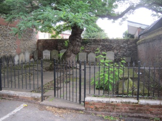 photo of Old Baptist Chapel's Church burial ground