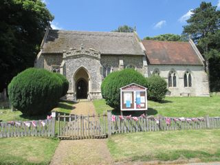 photo of St Mary (update 1)'s Church burial ground