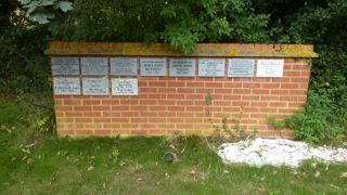 photo of All Saints (remembrance wall)'s Cremation Memorials