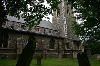 photo of St Peter and St John's Church burial ground