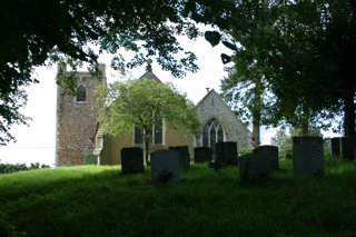 photo of All Saints' Church burial ground