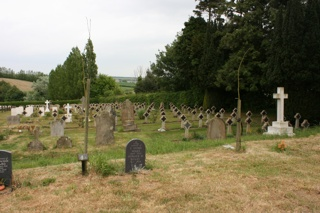 photo of St Mary Naval's Church burial ground