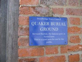 photo of Quaker Burial Ground's Church burial ground