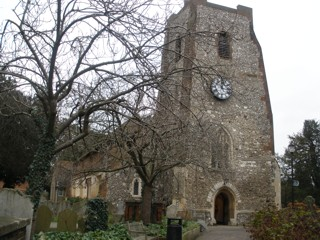 photo of St Mary 2's Church burial ground