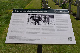 photo of Bear Road Military Cemetery
