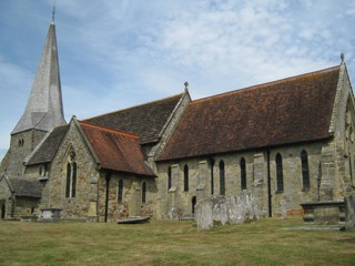 photo of St Andrew and St Mary's Church burial ground