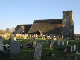 photo of St Mary Magdalene's Church burial ground