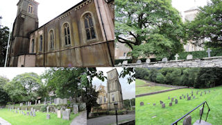 photo of Holy Trinity's Church burial ground