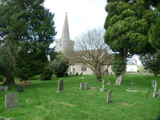 photo of St Gregory's Church burial ground