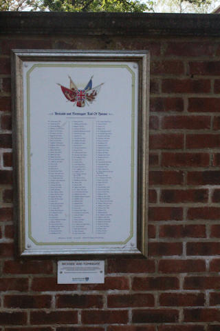 photo of Beckside and Flemingate (roll of honour)