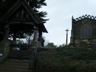 photo of St Michael's Church burial ground