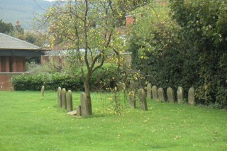 photo of Quaker's Church burial ground