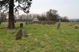 photo of St John Derelict's Church burial ground