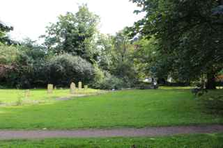 photo of St Mary Sculcoates' Church burial ground