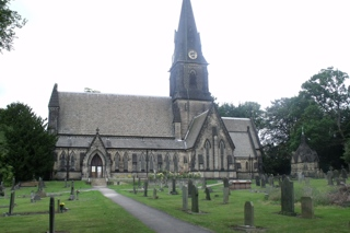 photo of The One Holy and Undivided Trinity's Church burial ground