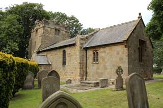 photo of St Oswald's Church burial ground