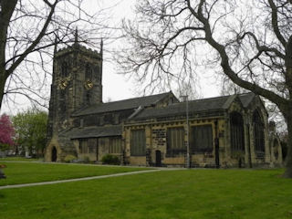 photo of All Saints (part 1)'s Church burial ground