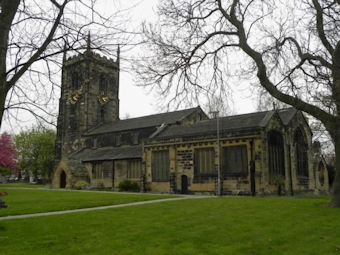 photo of All Saints (part 14)'s Church burial ground