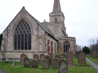 photo of St Wilfred's Church burial ground