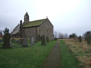 photo of St Mary's Church burial ground