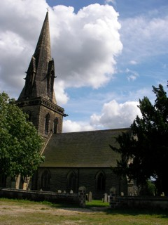 photo of St Barnabas' Church burial ground