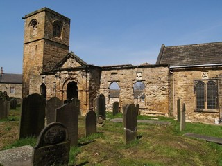 photo of Old Holy Trinity's Church burial ground
