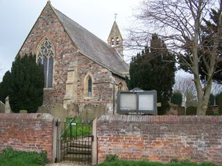 photo of St Alban's Church burial ground