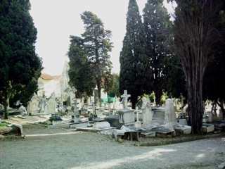 photo of Ste Marguerite Anglo American (3)'s Church burial ground