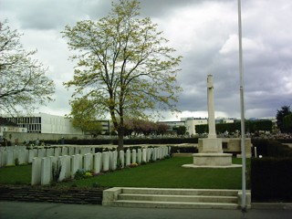 photo of Clichy Nord Commonwealth Military Cemetery
