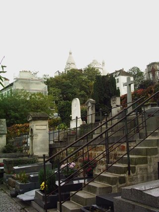 photo of Montmartre St Vincent's Church burial ground