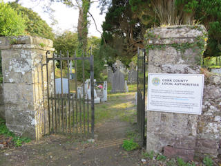 photo of Old's Church burial ground