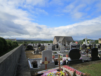 photo of St Gobnait (part 2)'s Church burial ground